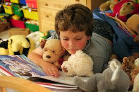 kid reading beloved short stories
