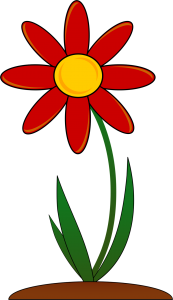15378-illustration-of-a-red-flower-pv