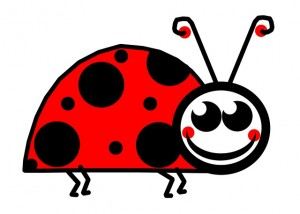 lady bug graphic