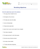 Revisiting Adjectives - adjectives - Third Grade