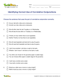 Identifying Correct Use of Correlative Conjunctions - conjunction - Fifth Grade