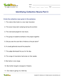 Identifying Collective Nouns Part 3 - noun - Fourth Grade