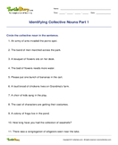 Identifying Collective Nouns Part 1 - noun - Second Grade