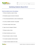 Identifying Collective Nouns Part 2 - noun - Third Grade