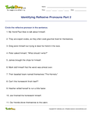Identifying Reflexive Pronouns Part 2 - pronoun - Fourth Grade