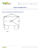 Types of Angles Part 2 - angles - Fourth Grade
