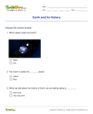 Earth and Its History - earth-and-its-resources - Second Grade