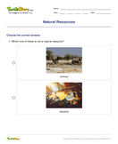 Natural Resources - earth-and-its-resources - Fifth Grade