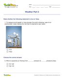 Weather Part 3 - weather-and-seasons - Fourth Grade